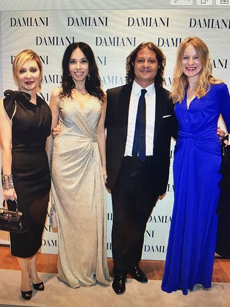 Silvia e Guido Damiani, il brand di gioielleria Damiani