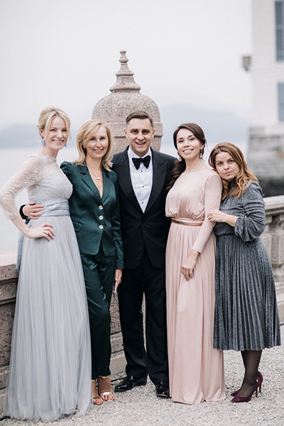 The editorial board of Wedding Magazine
